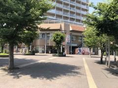 ②広場があります。